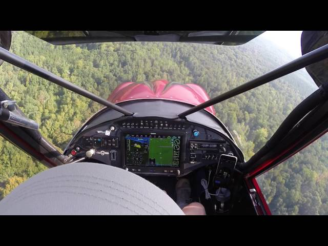 Carbon Cub N508DM Flight to Triple Tree Aerodome SC