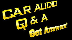 """GET ALL YOUR CAR AUDIO QUESTIONS ANSWERED """"HERE""""! SEE WHAT PEOPLE ASK!"""