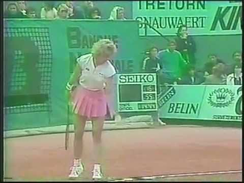 Chris Evert d. Martina Navratilova - 1986 French Open final