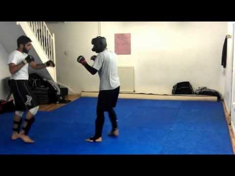 Hasib Vs Tox Light MMA Sparring - HASMMA
