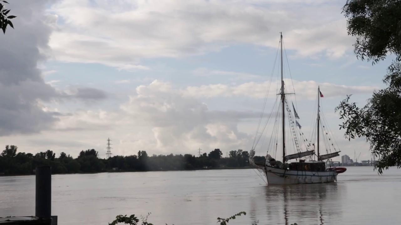 Tall Ships Regatta : Retour de l'Arawak à Lormont