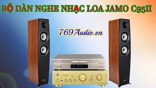 Denon 1500R II ghép với Loa Jamo C95 II âm thanh tuyệt đỉnh, CD Denon 735