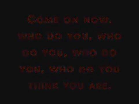 Crazy - Gnarls Barkley - Excellent sound + Lyrics on screen