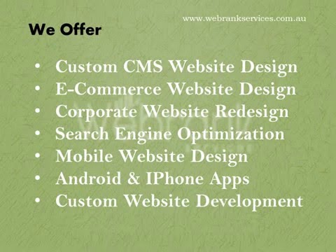 Affordable  Web Design & Cost effective SEO services company in Adelaide,Australia.