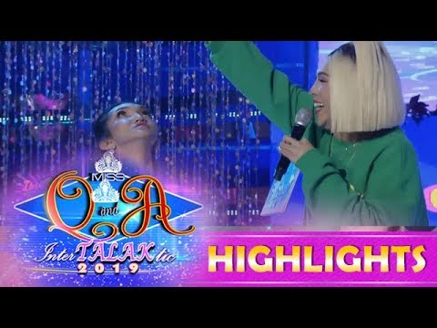 It's Showtime Miss Q & A: Vice Ganda Wants To Adopt Miss Q And A Candidate Ysa Madrigal