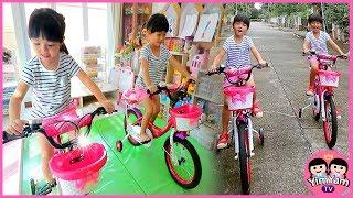 หนูยิ้มหนูแย้ม   เซอร์ไพรส์จักรยานคันใหม่