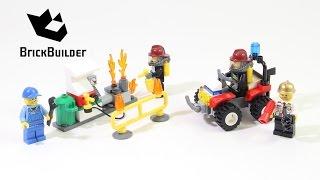 Kijk LEGO City 60088 brandweer startset filmpje