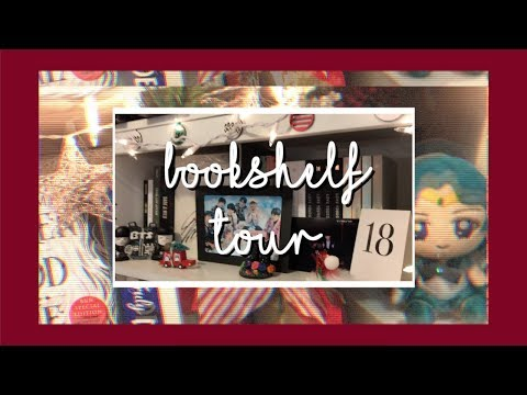 ✨ Holiday Bookshelf Tour (Kpop + Books) ~ Dec. 2018!