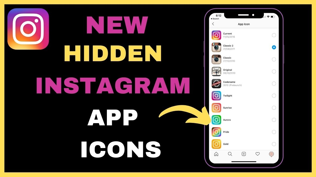 How to change your Instagram app icon on Android and iOS