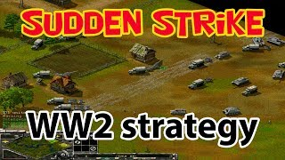 WW2 strategy Sudden Strike forever multiplayer 2 vs 2. No commentary