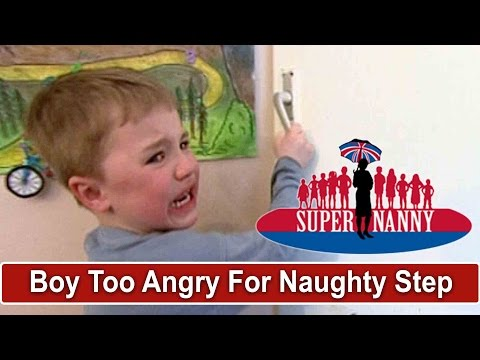 Supernanny Says Boy Is Too Angry For Naughty Step | Supernan
