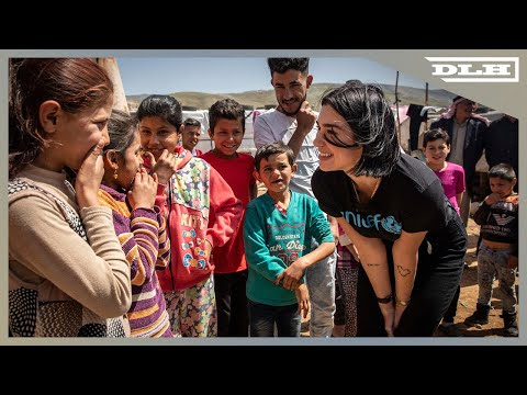 Dua Lipa Meets Children And Young People at Refugee Settlements In Lebanon