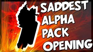The Saddest Alpha Pack Opening - Rainbow Six Siege