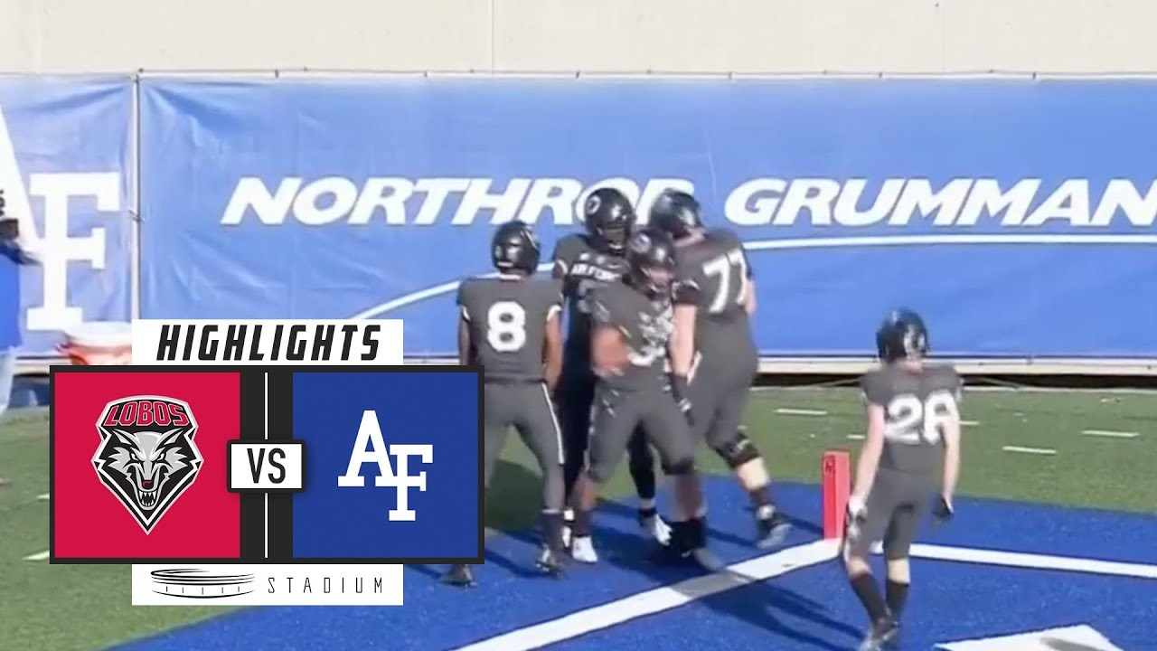 New Mexico vs. Air Force Football Highlights (2018 ...