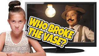 WHO BROKE THE VASE??? IT WASN'T ME! Kids React to The Case of the Missing Vase! Top 10 Countdown #3