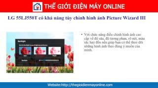 55LJ550 | Smart Tivi LG Full HD 55 inch 55LJ550T giá tốt