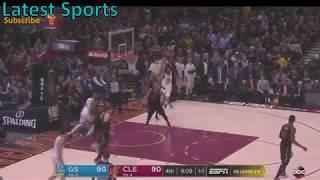 Warriors vs Cavs Game 3 Highlights (4th Quarter) - NBA Finals 2018