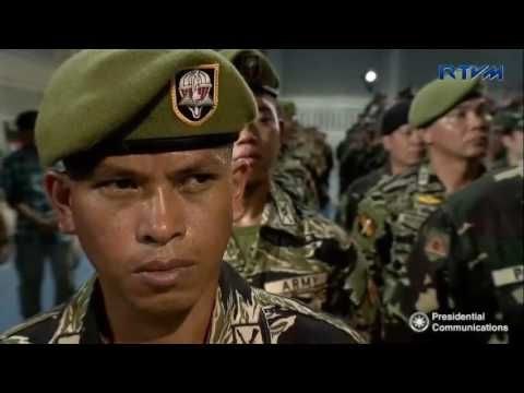 Talk to the Troops of the 4th Infantry Division (4ID) of the Philippine Army (PA)