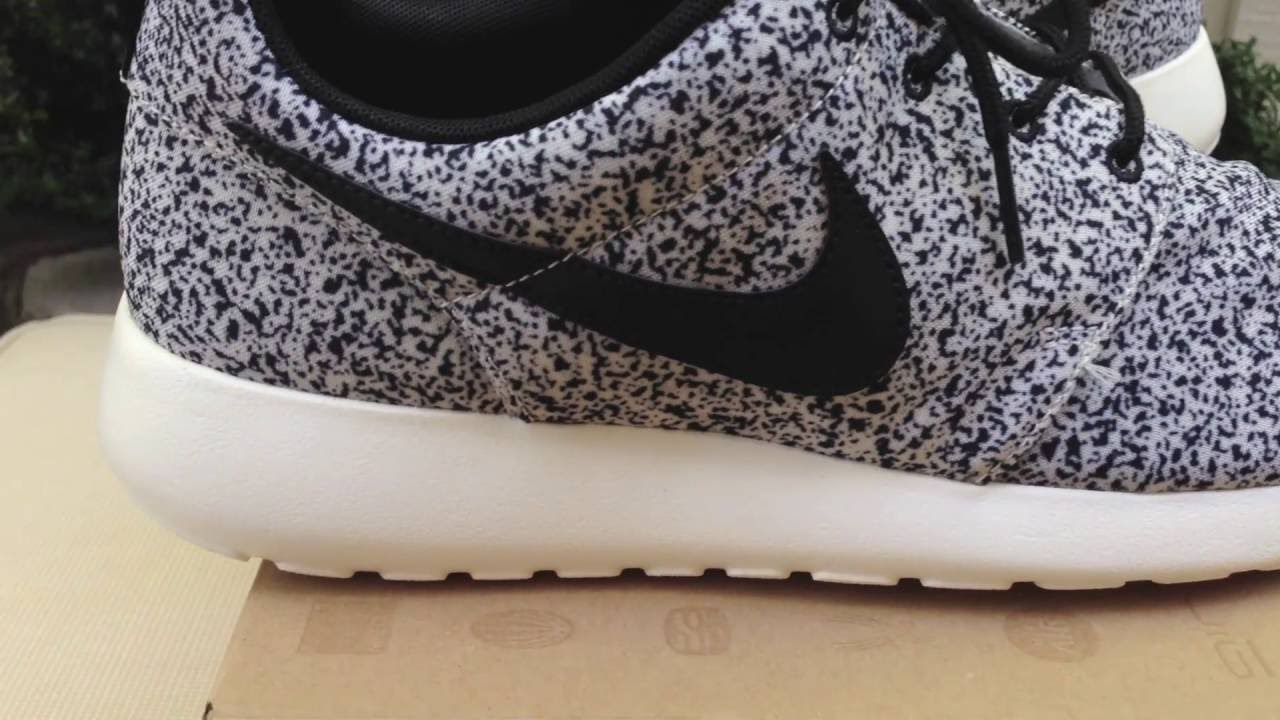ca064e2a253984 Nike Cement   Speckle   Oreo Roshe Run Review + On Feet! - YouTube