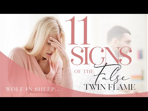 11 Signs of the False Twin Flame (Wolf in Sheeps Clothing!)