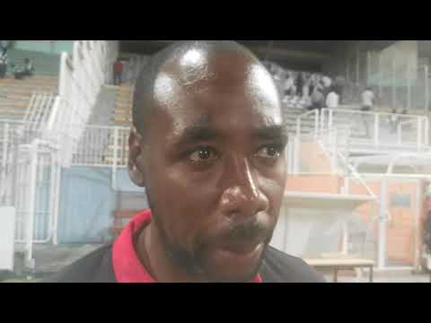 Dennis Lawrence post match Martinique