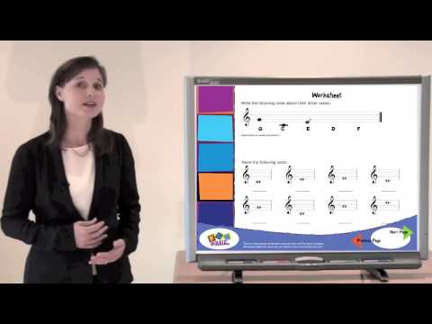 Pitch Reading Music Theory Game