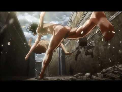 Attack On Titan Episode 7 Mikasa Scene