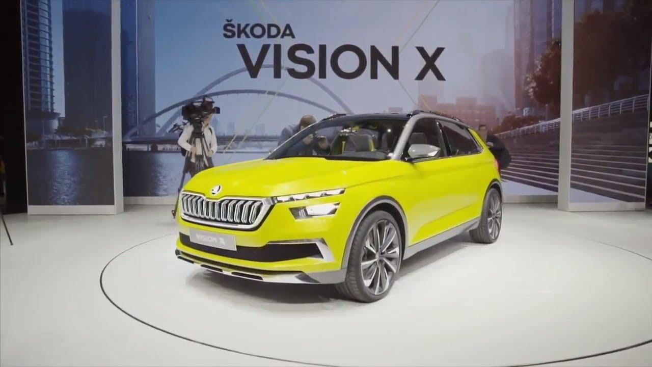 skoda fabia facelift 2019 and skoda vision x cng hybrid car preview skoda visionx. Black Bedroom Furniture Sets. Home Design Ideas
