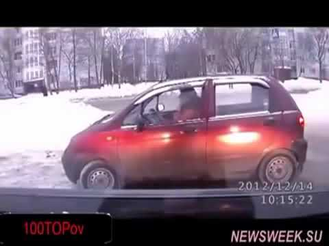 Ржака приколы девушки авто ДТП