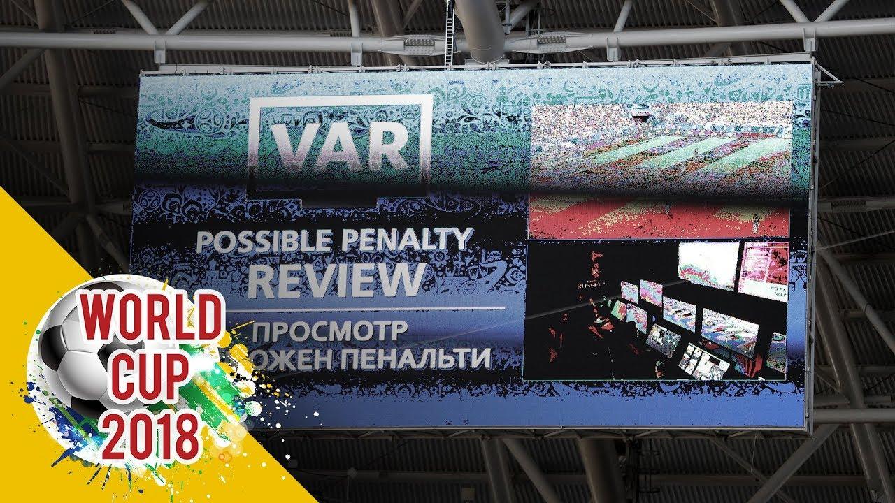 Công nghệ VAR lần đầu tiên được dùng trong World Cup 2018