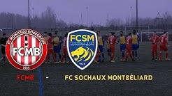 U19 Nationaux FC Montceau Bourgogne - FC Sochaux Montbéliard