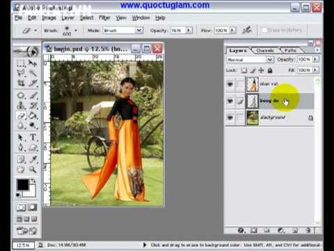 Bộ video hướng dẫn sử dụng Photoshop   Tiếng Việt dễ hiểu -Hnmovies.com 8