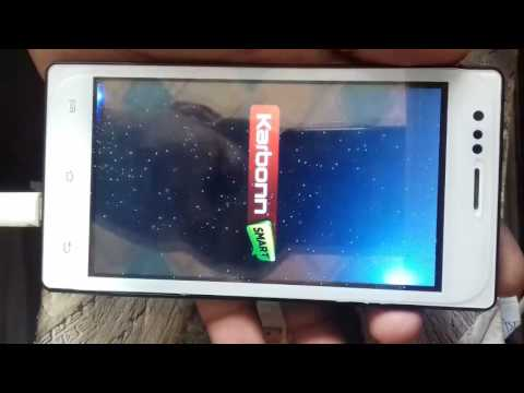 Karbonn A6 Turbo Hard reset and Remove Pattern Lock