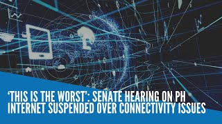 'This is the worst': Senate hearing on PH internet suspended over connectivity issues