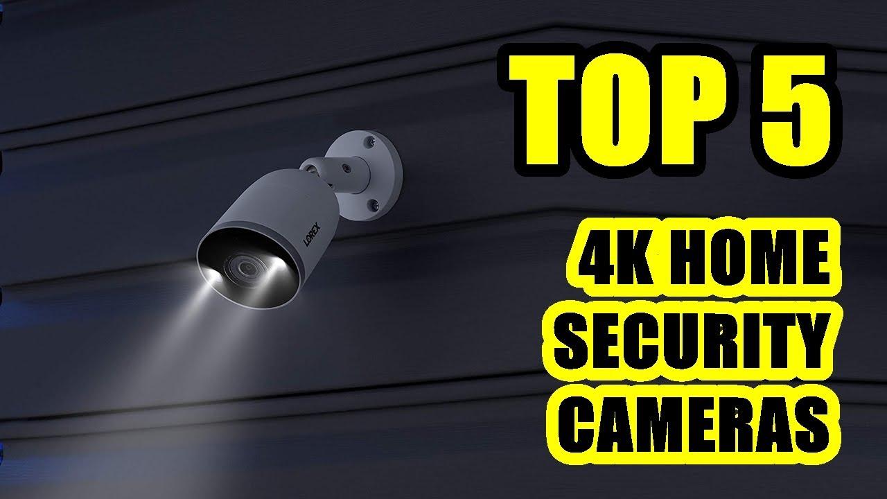 TOP 5: Best 4K Ultra HD Home Security Camera 2021 | Indoor or Outdoor