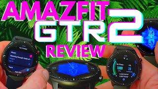 New HUAMI AMAZFIT GTR 2 Review | Voice Control! Speaker and Mic! Dual GPS! 3D Gorilla Glass & More
