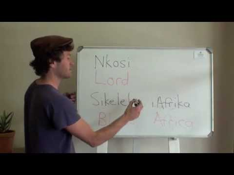 How to Sing SA National Anthem Nkosi Sikelel' iAfrica - Verse 1.m4v