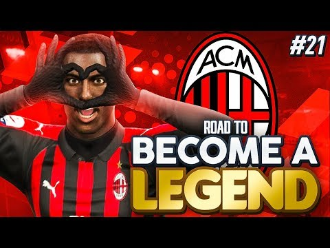 "ROAD TO BECOME A LEGEND! PES 2019 #21 ""MANNY LOVING LIFE AT MILAN!"""