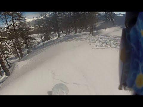 Torgnon 2015 gopro snowboarding