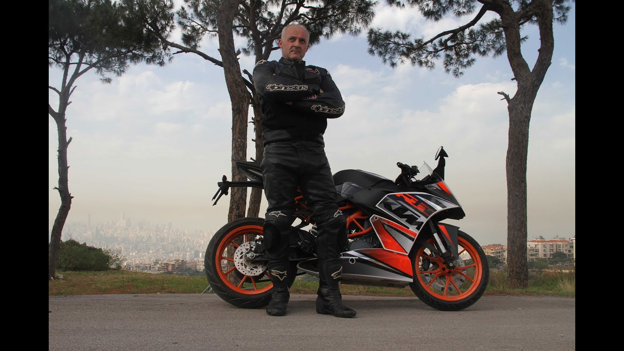 the ktm rc 390 test driven by lou agha youtube. Black Bedroom Furniture Sets. Home Design Ideas
