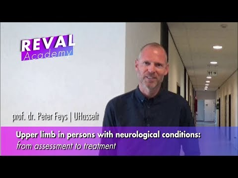 "Studiedag ""Upper limb in persons with neurological conditions"""