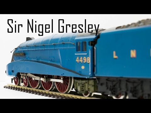 Unboxing The A4 Sir Nigel Gresley From Hornby