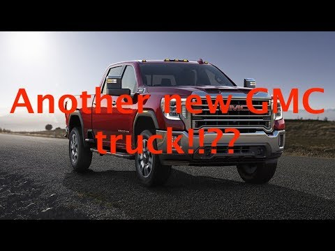 2020 GMC Sierra HD - Run Through and Design Thoughts