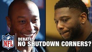 No More Shutdown Corners? Chris Harris Jr. Debates with LT | NFL Network