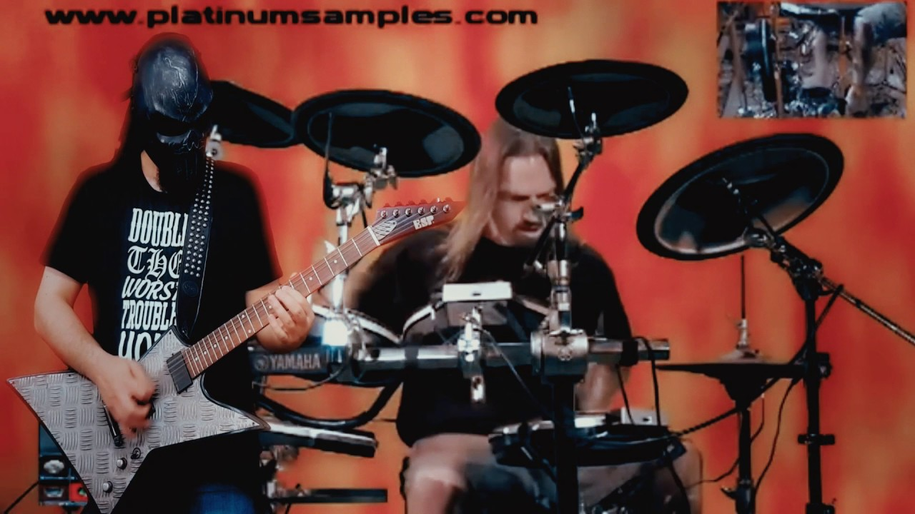 Platinum Samples: Bobby Jarzombek ft DaaMooN 66 - Evil Drums for BFD and  BFD2