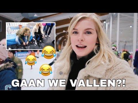 We gaan weer schaatsen & HEEL VEEL KINDEREN 😍⛸   Femke Meines