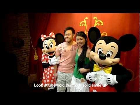Willie & Sue's engagement Disneyworld Sep 25, 2012