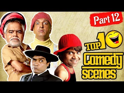 Top 10 Comedy Scenes {HD} Part -12 - Ft.Johnny Lever   Rajpal Yadav   Arshad Warsi #IndianComedy