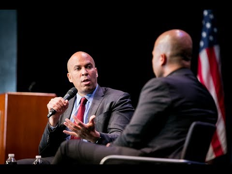 Cory Booker Talks Criminal Justice Reform with Glenn E. Martin