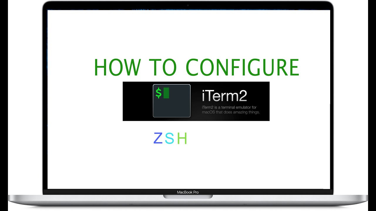 Iterm 2 How to Configure zsh on your mac - more productive for the developer